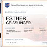 Boarding-Pass zum Mars