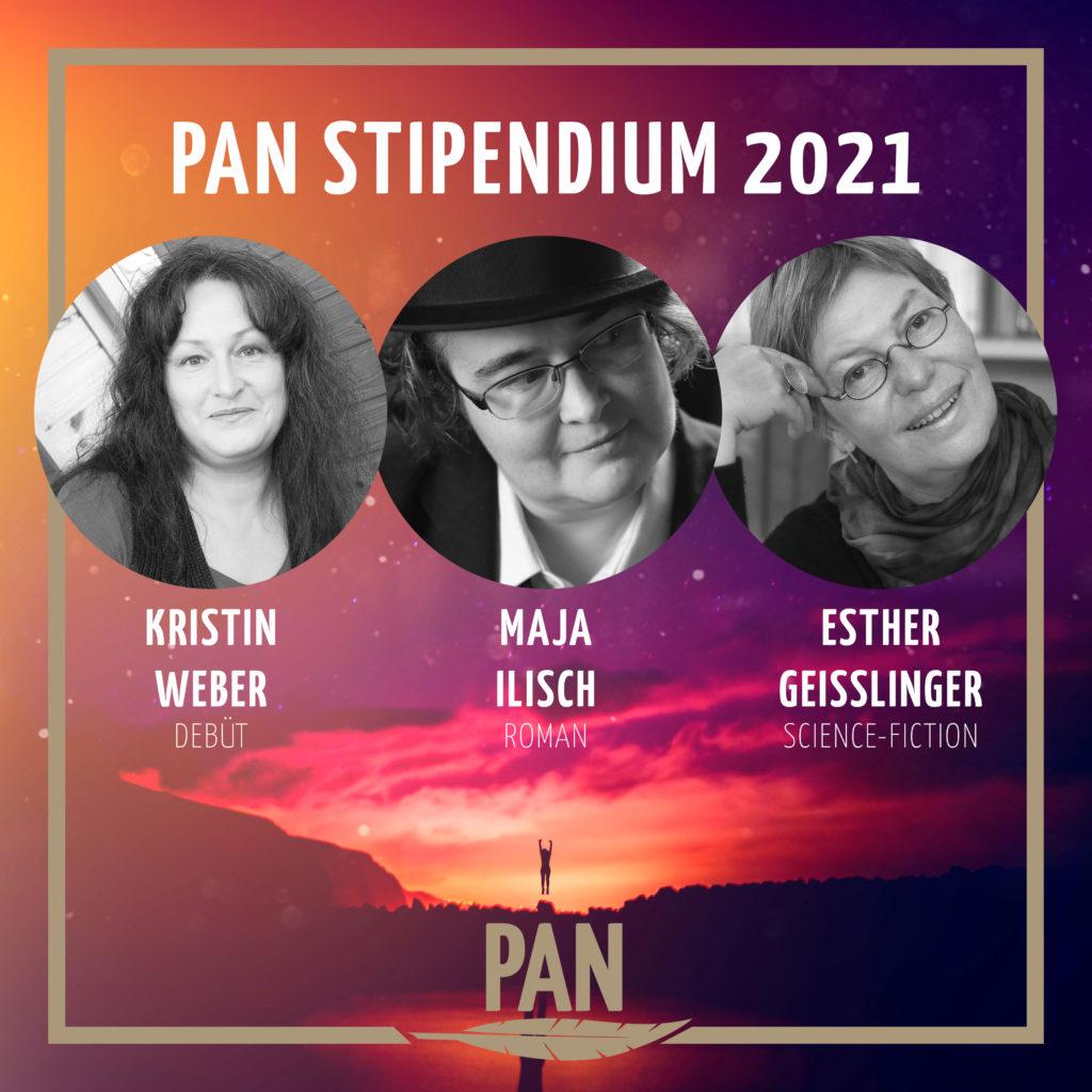 PAN Stipendien Kristin Weber, Maja Ilisch, Esther Geißlinger